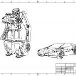 Robot Transformers de Brave Robotics #5