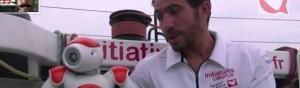 Vendée Globe 2012 - Tanguy et le robot Nao - Episode 2 - Bandeau  #1