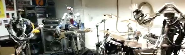 CompressorHead - Groupe de Robots Musiciens - Bandeau #1