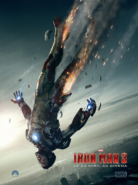 Film Iron Man 3 - Affiche Concept Art - Tony Stark - Nemesis #1