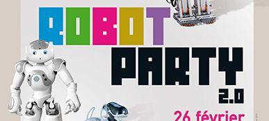 Robot Party 2.0 2013 - Meudon La Foret - Bandeau #1