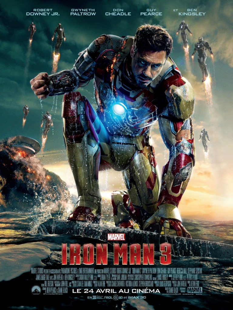 Film Iron Man 3 - Affiche France #1