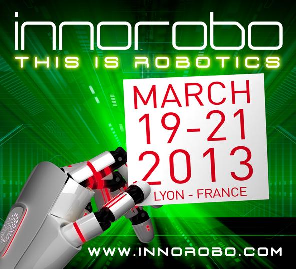 InnoRobo 2013 - Le sommet international référent  en Europe dédié à la Robotique de Services #1