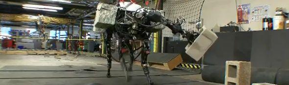 Robot BigDog ert son Bras Robotique - Bandeau #1