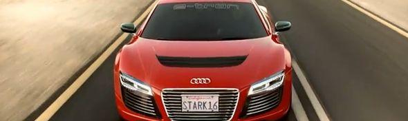 Film Iron Man 3 - Audi R8 E-Tron - Bandeau #1