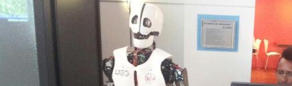 Robot Humanoide Aria de ybedroid - BNF - 2013 - Bandeau #1