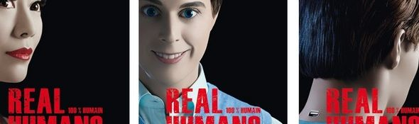 Real Humans - 100% Humains - Bandeau #1