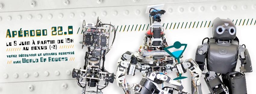 Apérobot 22.0 - La Rencontre mensuelle des passionnés de Robotique - Affiche #2