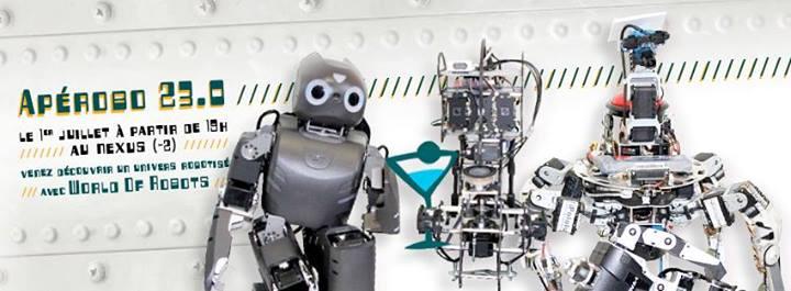 Apérobot 23.0 - La Rencontre mensuelle des passionnés de Robotique - Affiche #2