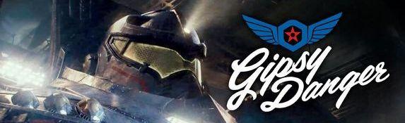 Film Pacific Rim - Robot Jaeger - Gipsy Danger - Bandeau #1