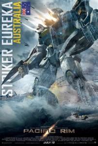 Film Pacific Rim - Robot Jaeger - Striker Eureka #1