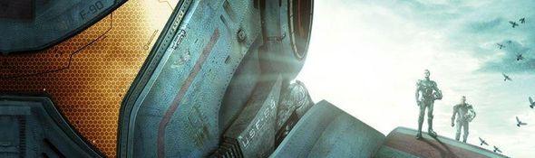 Pacific Rim - Les Robots Jaegers - Affiche Comic Con 2012 - Bandeau #1