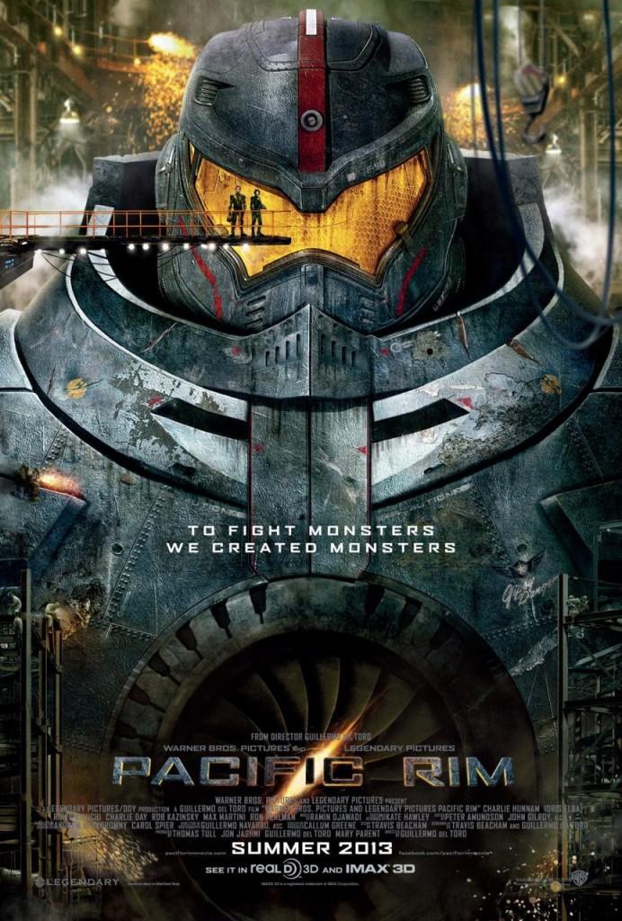 Pacific Rim - Robots Jaegers - Affiche USA #1
