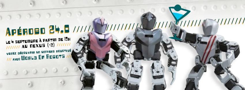 Apérobot 24.0 - La Rencontre mensuelle des passionnés de Robotique - Affiche #2