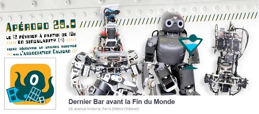 Apérobo 29 - Vingt-neuvième Edition - La Rencontre mensuelle des passionnés de Robotique - Affiche #1