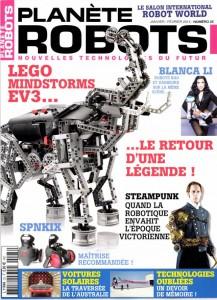 Planète Robots - Couverture du Magazine No25 #1
