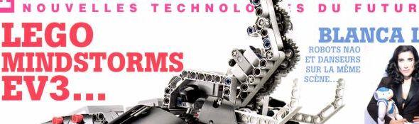 Planète Robots - Couverture du Magazine No25 - Bandeau #1