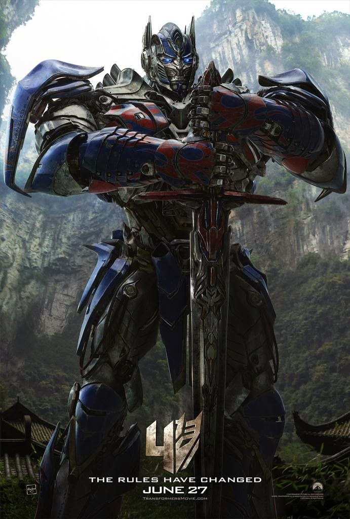 Film Transformers 4 - L'Age de l'Extinction - Affiche Optimus Prime #1