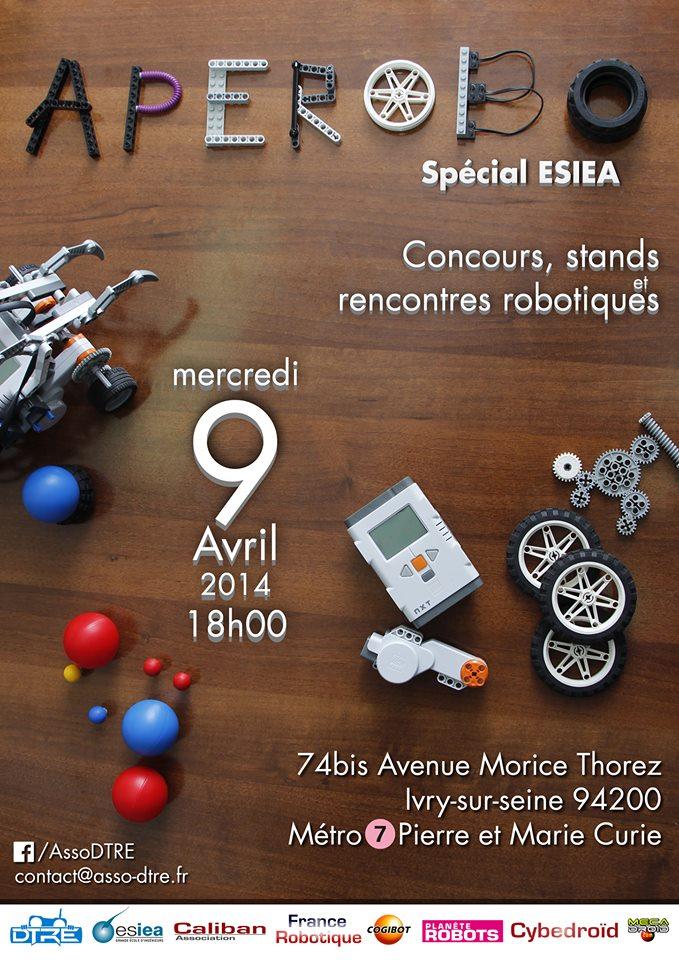 Aperobot Special  DTRE - ESIEA - 04 2014 #2