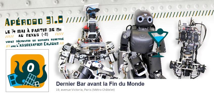 Apérobo 31 - Rencontre de Robotique Mensuelle - Affiche #1