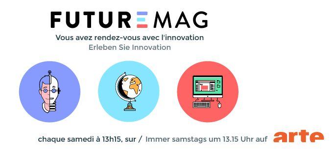 FutureMag - Emission Arte - Logo #1