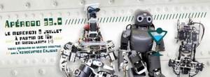 Apérobo 33 - Trente-troisième Edition - La Rencontre mensuelle des passionnés de Robotique - Affiche #1