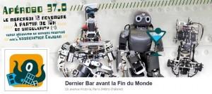 Apérobo 37 - Trente-septième Edition - La Rencontre mensuelle des passionnés de Robotique - Affiche #1