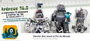 Apérobo 38 - Trente-huitième Edition - La Rencontre mensuelle des passionnés de Robotique - Affiche #1