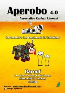 Aperobo Limouzi 4.0 - Rencontre Robotique Mensuelle - Affiche #1