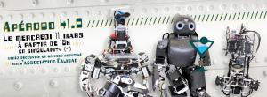 Apérobo 41 - Quarante et unième Edition - La Rencontre mensuelle des passionnés de Robotique - Affiche #1