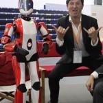 Apérobo 50 - Cinquantième Edition - La Rencontre mensuelle des passionnés de Robotique - Image Leena Cybedroïd #1