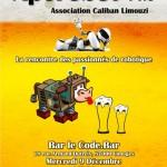 Aperobo Limouzi 14.0 - La Rencontre mensuelle des passionnés de Robotique - Affiche #1