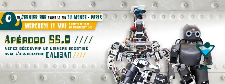 Apérobo 55 - Rencontre Robotique Mensuelle - Affiche #1