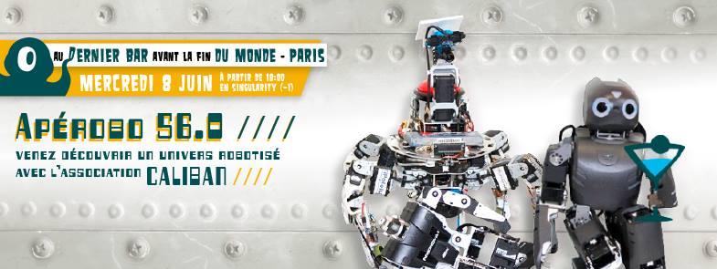 Apérobo 56 - Rencontre Robotique Mensuelle - Affiche #1