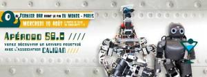 Apérobo 58 - Rencontre Robotique Mensuelle - Affiche #1