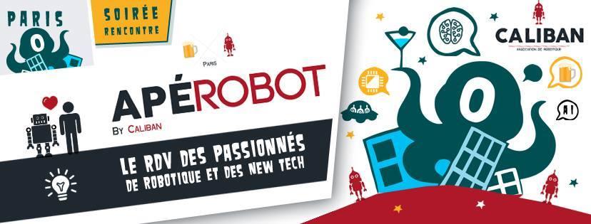 Apérobo 64 - Rencontre Robotique Mensuelle - Affiche #1
