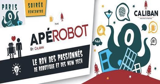 Apérobo 72 - Rencontre Robotique Mensuelle - Affiche #1