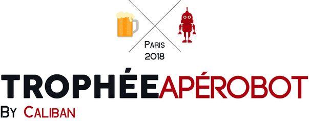 Apérobo-77 - Trophée Apérobot 2018 - Rencontre Robotique Mensuelle - Affiche Bandeau #1