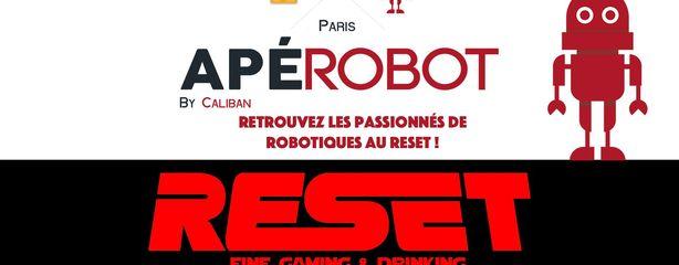 Apérobo 83 - Rencontre Robotique Mensuelle - Affiche #1
