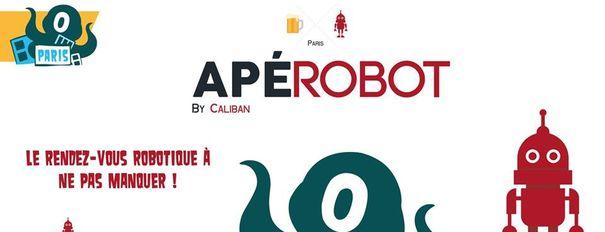 Apérobo 94 - Rencontre Robotique Mensuelle - Affiche Bandeau #1