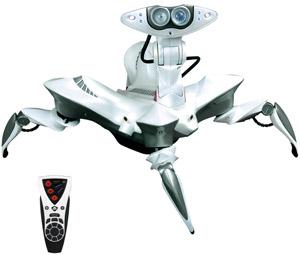 RoboQuad, le Robot Explorateur de WowWee #1