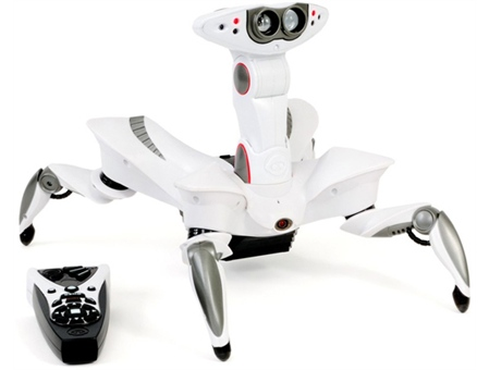RoboQuad, le Robot Explorateur de WowWee #2