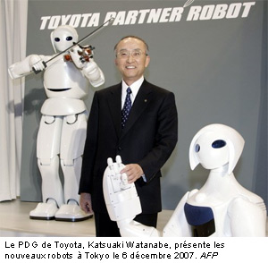 Toyota Développement des Robots 2010