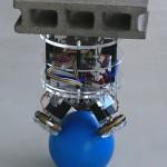 BallIP - un Robot qui se déplace en équilibre sur une boule #1